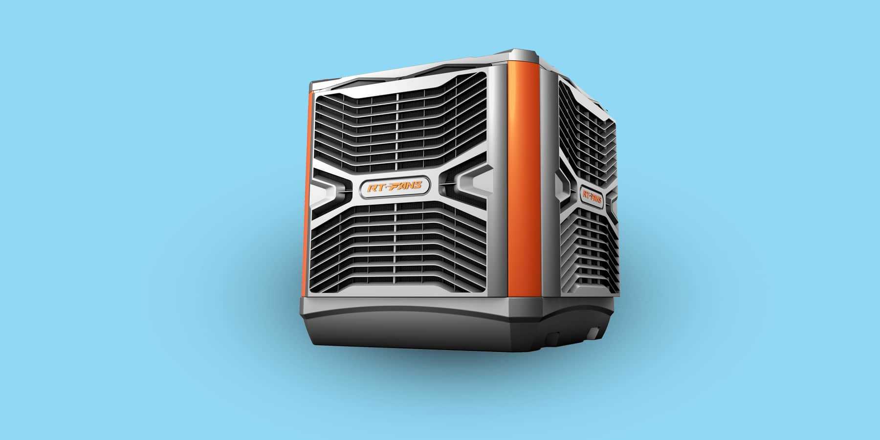 Evaporative air cooler for garage